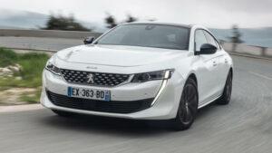 Fotos de la prueba del nuevo Peugeot 508