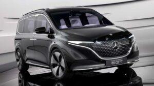 Fotos: Mercedes-Benz EQT concept car