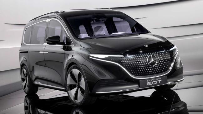Nuevo Mercedes-Benz EQT Concept 2021: una furgoneta eléctrica premium de hasta 7 plazas