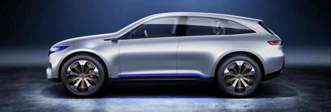 Mercedes Generation EQ Concept, SUV eléctrico de 402 CV