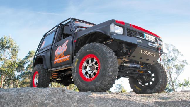 Nissan Patrol 260: trialero de pura cepa