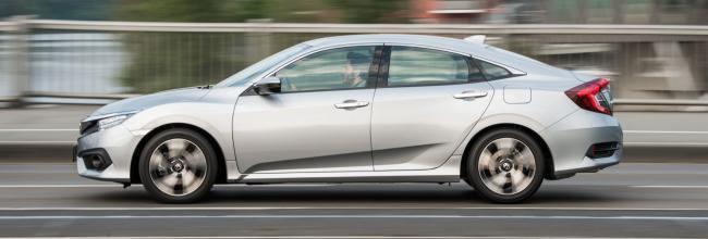 Honda Civic: en oferta por 160 euros al mes