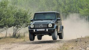 Fotos de la prueba del Mercedes G 350d