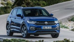 Fotos del Volkswagen T-Cross a prueba
