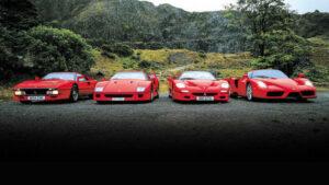 Fotos: Ferrari 288 GTO vs. F40 vs. F50 vs. Enzo