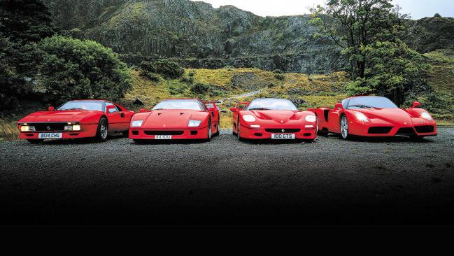 ¿Cuál es el mejor Ferrari? Comparativa Ferrari 288 GTO vs. F40 vs. F50 vs. Enzo