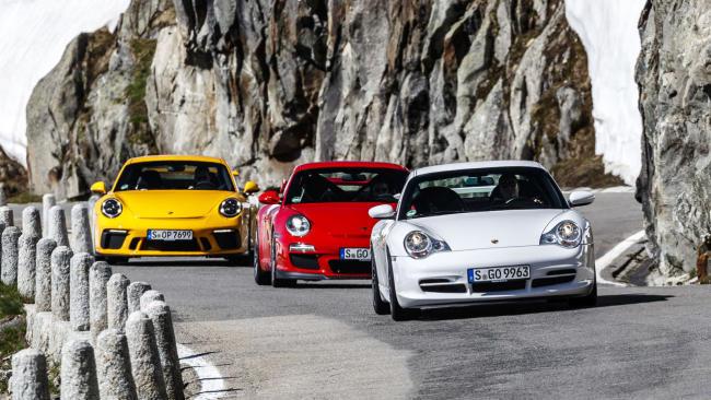 20 aniversario del Porsche 911 GT3