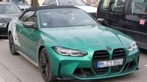 Fotos del BMW M4 Convertible 2021 sin camuflaje
