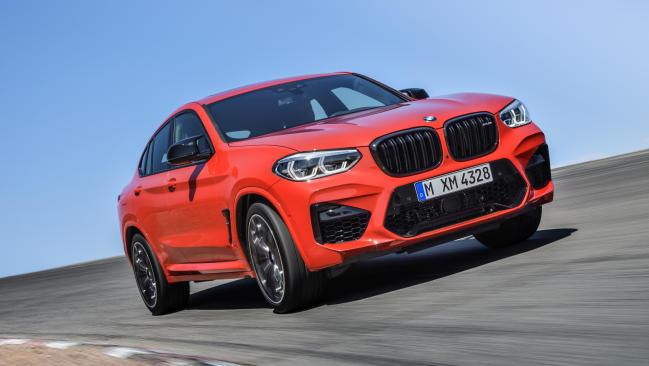 Primera prueba de los BMW X4 M y M Competition