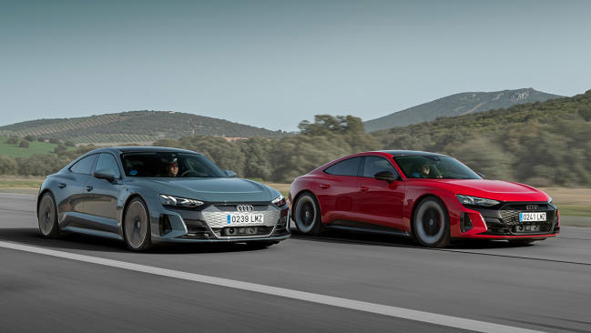 Primera prueba: Audi e-tron GT y RS e-tron GT