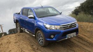 Fotos de la prueba en campo del Toyota Hilux