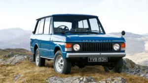 Fotos: 50 aniversario del Range Rover