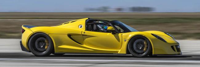 Hennessey Venom GT Spyder: el cabrio más rápido del mundo