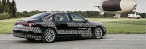 Fotos de la prueba del AI Piloted Driving del Audi A8