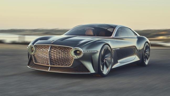 Bentley publica nuevas imágenes en movimiento del EXP 100 GT