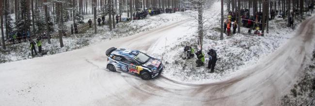 Ogier gana un atípico rallye de Suecia