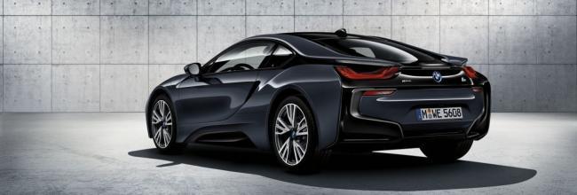 BMW i8 Protonic Dark Silver Edition, limitado al Salón de París