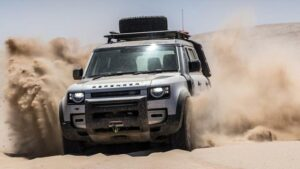 Fotos: Land Rover Defender en Namibia