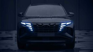 Fotos: Teaser del Hyundai Tucson 2021