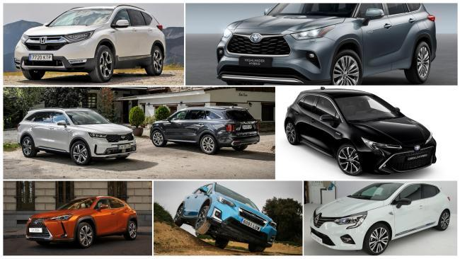 Los mejores coches híbridos que podrás comprar en 2021