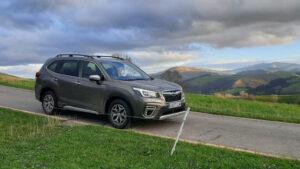 Fotos: Traineras, playas y acantilados para un Subaru