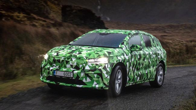 Skoda nos muestra el aspecto definitivo del Enyaq iV, su futuro SUV eléctrico