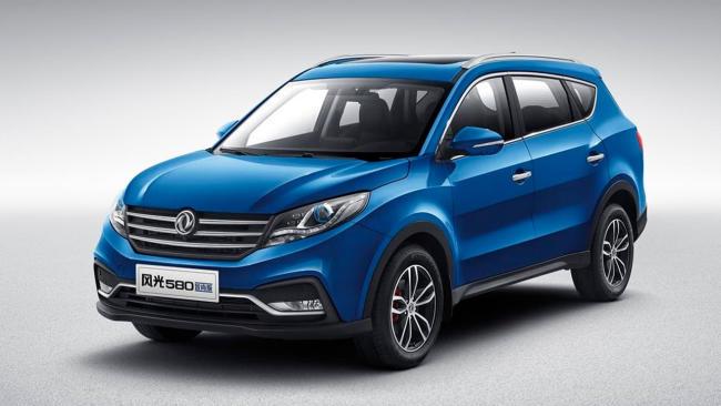 DFSK 580: precios para España del nuevo SUV chino