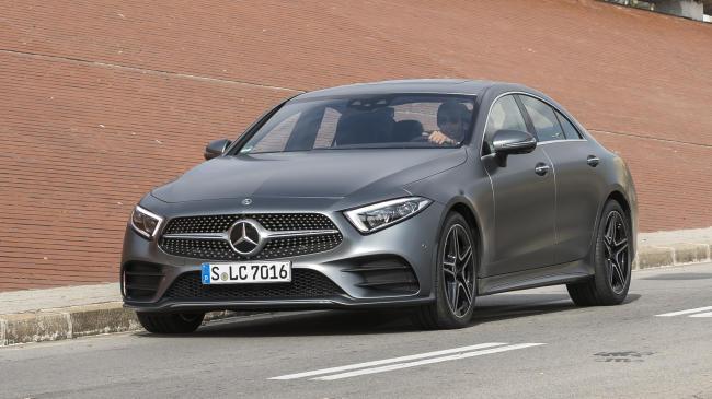 El Mercedes-Benz CLS estrena versión de acceso: el  motor 2.0 d con cuatro cilindros
