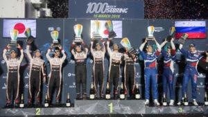 Fotos de la victoria de Alonso en Sebring 2019