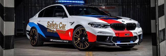 Este es el nuevo BMW M5 Safety Car de MotoGP