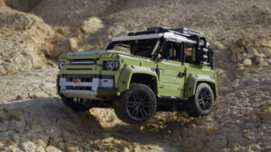 Fotos del Land Rover Defender de Lego