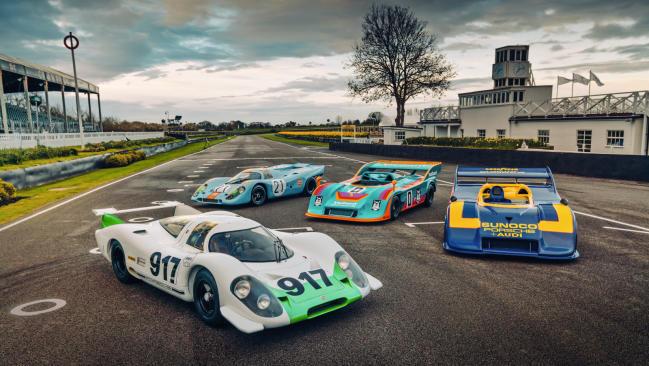 Porsche 917: leyenda viva