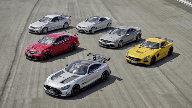 Todos Mercedes-AMG Black Series: las bestias de Affalterbach