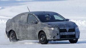 Fotos espía del Dacia Logan