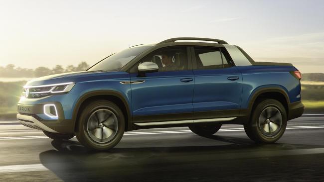 Volkswagen Tarok Concept: la familia pick up crece