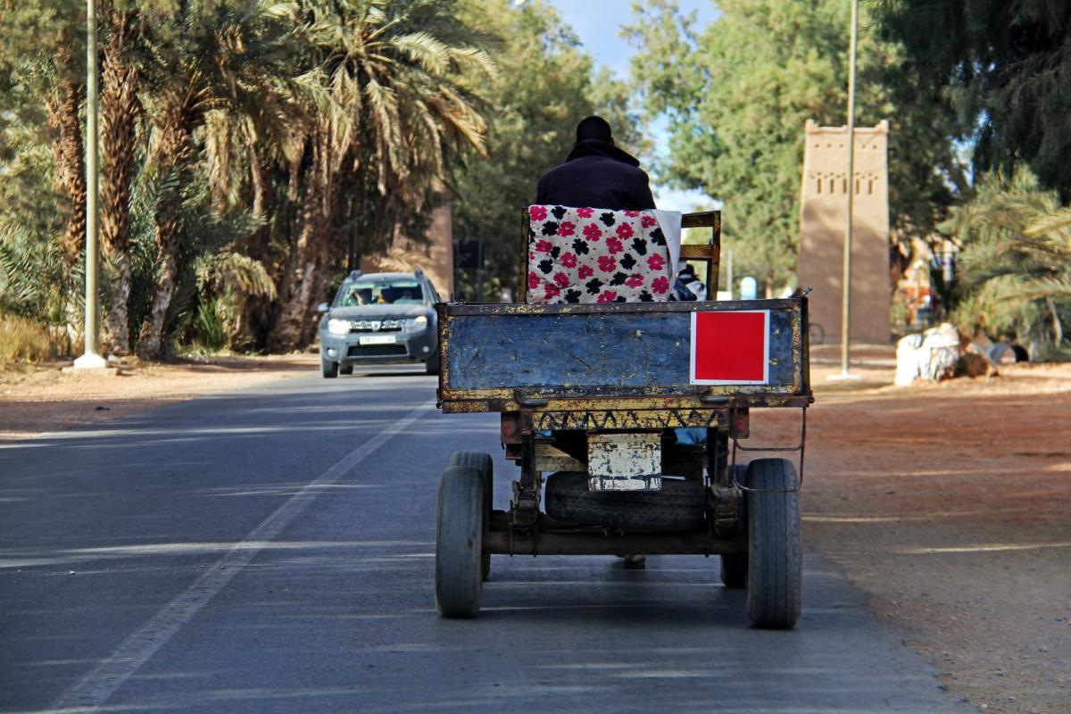 Kumho en Marruecos en el Desierto de los niños