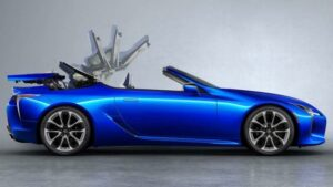 Fotos: Lexus LC Cabrio 2020