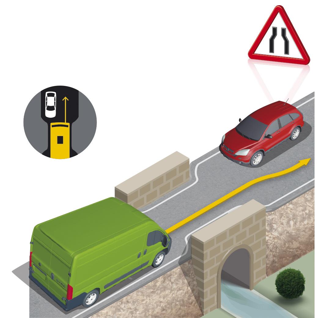 ¿Cómo se regula la prioridad de paso entre vehículos?
