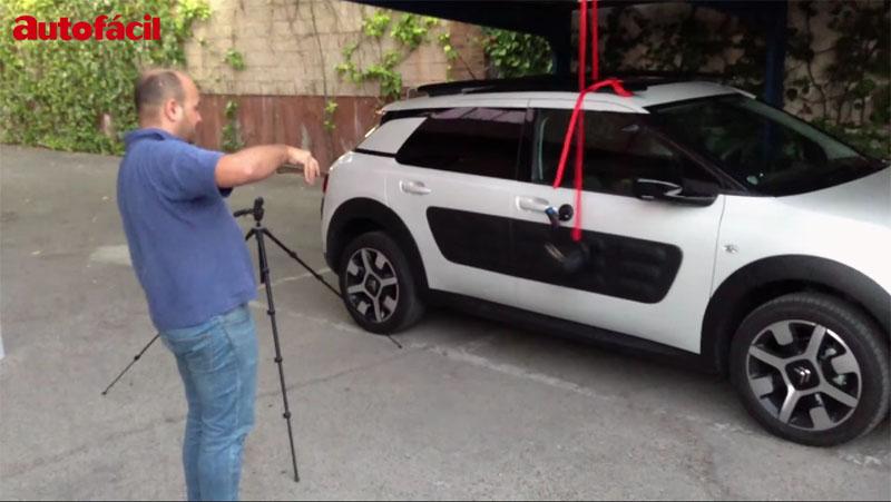 Tratamos de ´reventar´ los Airbump del Citroën C4 Cactus… y este es el resultado