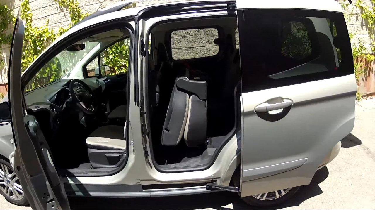Vídeoprueba del nuevo Ford Tourneo Courier