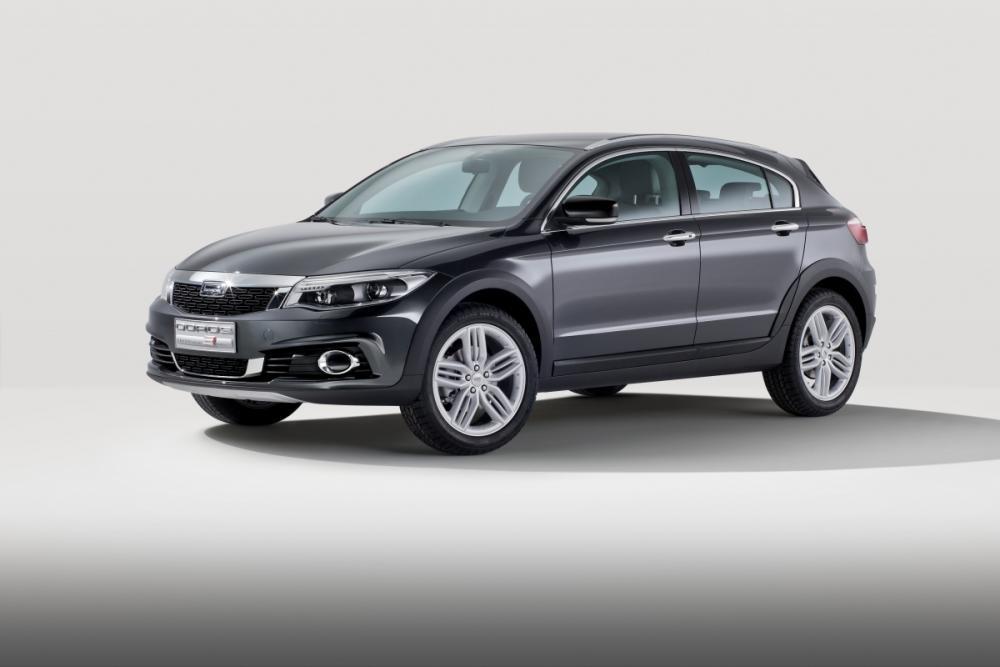 Qoros presenta su primer SUV