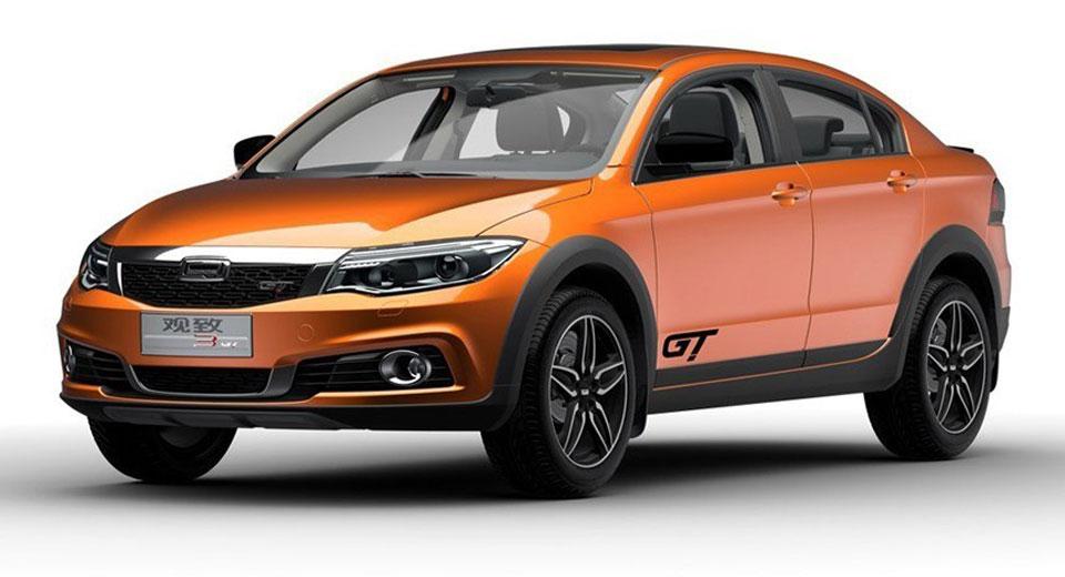 Qoros 3 GT: el sedán crossover chino