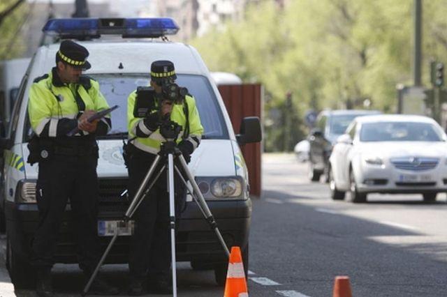 ¿Cuáles son las multas por exceso de velocidad?