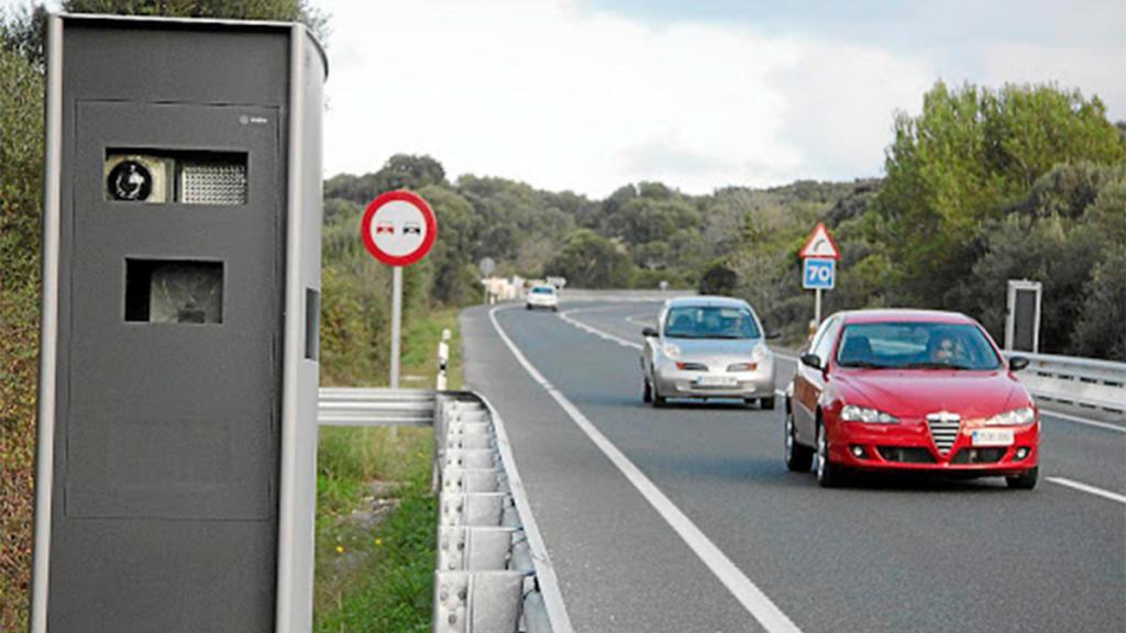 limite de velocidad vías secundarias