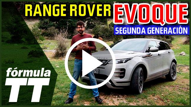 Vídeo: primera prueba del Range Rover Evoque II