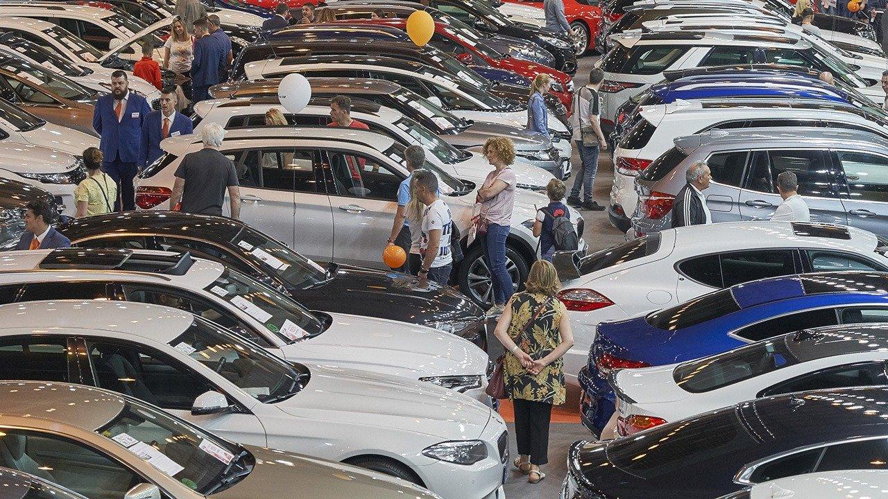 ventas coches de ocasión mes de mayo