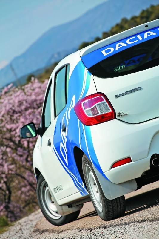 Dacia Sandero Rallye Cup: Dónde no llegan los pistones…