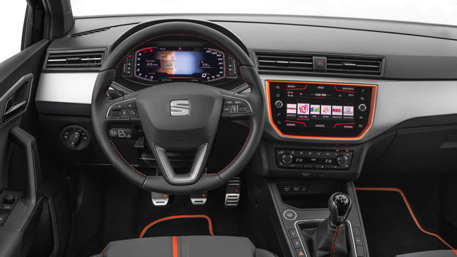 seat introduces its digital cockpit to the arona and ibiza007hq