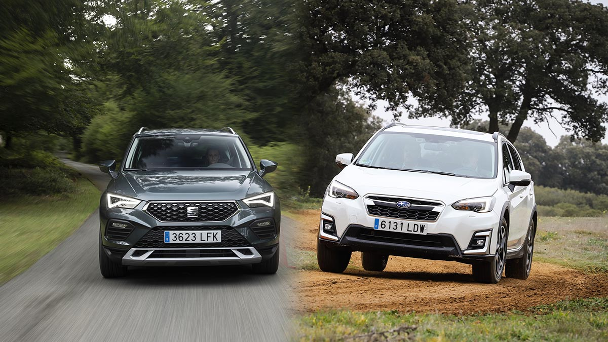 ¿Seat Ateca o Subaru XV para un uso mixto por asfalto y caminos?