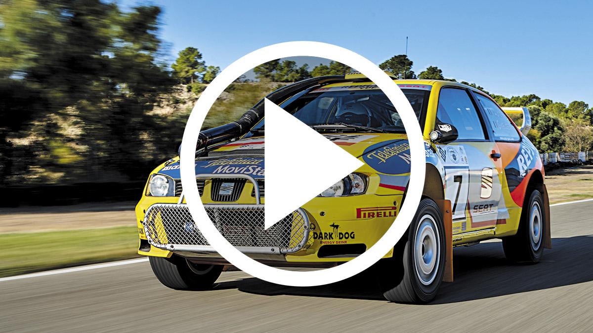 Vídeo: el mítico Seat Córdoba WRC a prueba